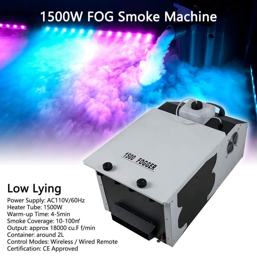 Tengchang Fog Smoke Machine Functions