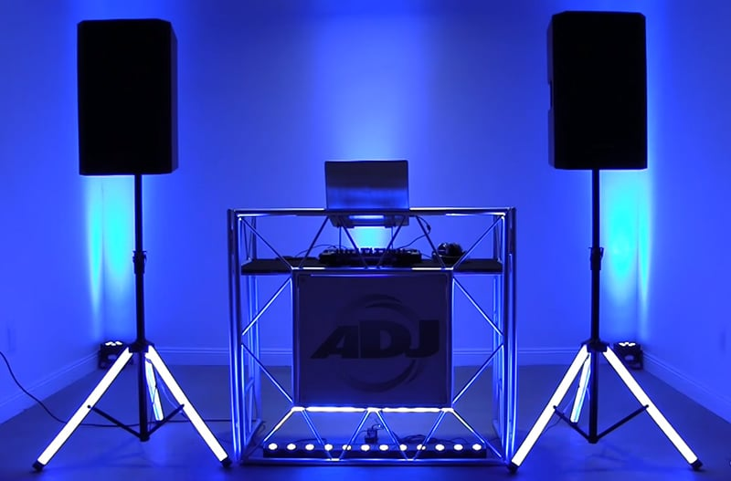 Using Black Lights with DMX Boards