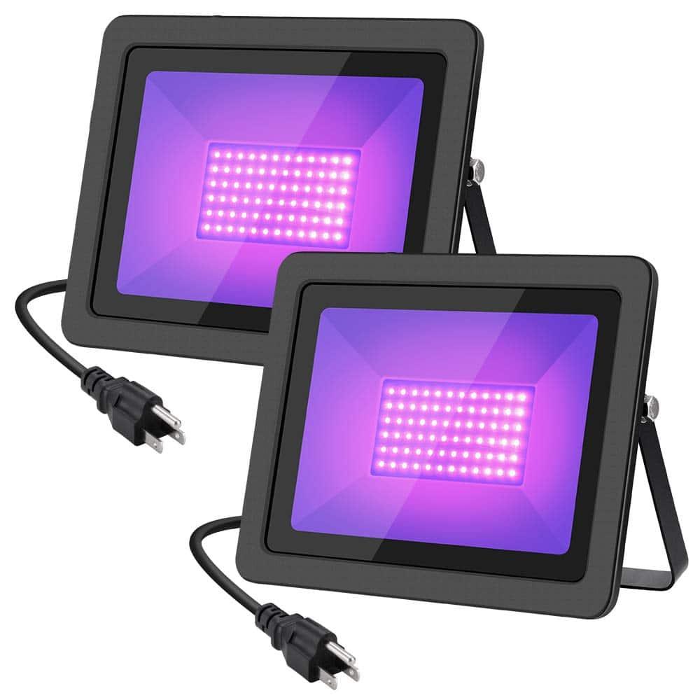 WELKEY PLUS 2 Pack 80W UV LED Black Light Flood Light review