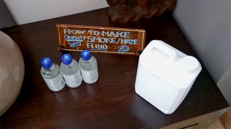 How to Make Fog Juice An Easy Two Ingredient Option