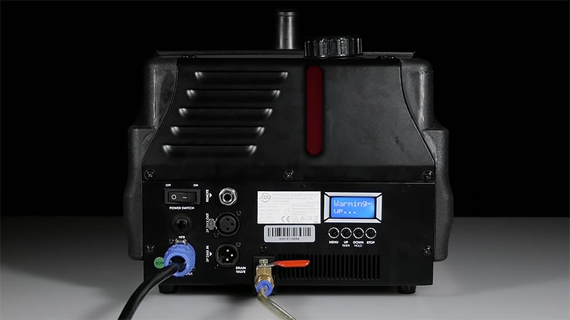 Controls and Remotes Low-Lying Fog Machine