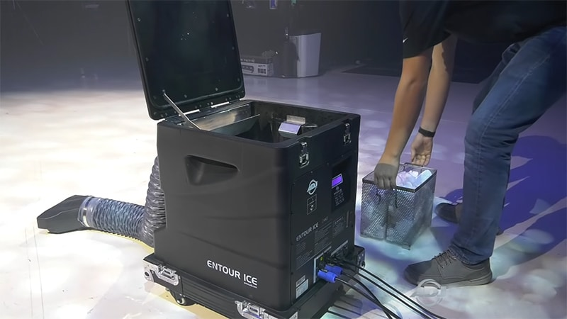 Ease of Use Low-Lying Fog Machine