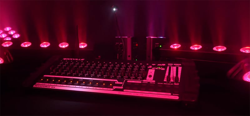 Scenes, Chases, and Banks DJ Lights Controllers